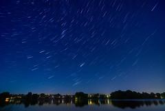 Falling night (G1K4) Tags: longexposure startrails blue nightcity reflction lake composition nikon tokina dx 1116mm