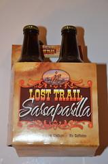Lost Trail Sarsaparilla (Adventurer Dustin Holmes) Tags: food drink drinks beverage beverages 2016 4pack fourpack carton losttrail sarsaparilla losttrailsarsaparilla bottles