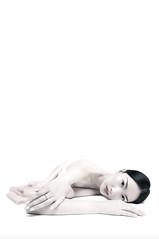 Xiaosu Feng (www.ricardosilvestre.com) Tags: seleccionar asia china chinese woman beauty white sexy nude fabrics pink jewel asian model