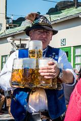 Thirsty @ Oktoberfest 2015 (Munich) (PaulHoo) Tags: munich munchen oktoberfest 2015 city people candid streetcandid streetphotography beer tradition festival event lumix thirsty man drink alcohol