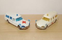 Majorette Citroen DS Ambulance (Vintage Toy Collection) Tags: corgi juniors majorette reliant scimitar jensen interceptor citroen ds diecast vintagetoys toycar veron norev mettoy