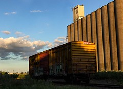 Rail Box (TwinCitiesSeen) Tags: semi minnesota minneapolis twincities twincitiesseen canont3i tamron2875mm
