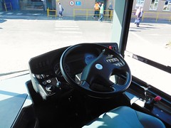 YX65 RKK (North West Transport Photos) Tags: dashboard cab steeringwheel adl alexanderdennis enviro e200 e20d enviro200 e200mmc enviro200mmc yx65rkk demonstrator adderleygreendepot potteriesrunningday bus