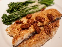 Pecan Crusted Rainbow Trout (sami.alamil) Tags: trout pecan delicious sony a6300 zeiss 24mm sonya6300 washingtondc usa dc va virginia fish