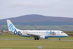 Flybe Embraer E175 G-FBJB at Isle of Man EGNS 08/10/16 (IOM Aviation Photography) Tags: flybe embraer e175 gfbjb isle man egns 081016