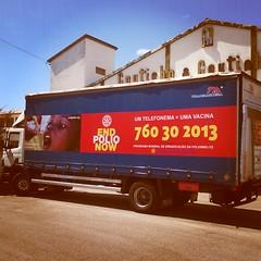 Campanha End Polio Now