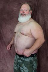 Hibearnation-4x6-5898 (Mike WMB) Tags: bear daddy beard muscle camo