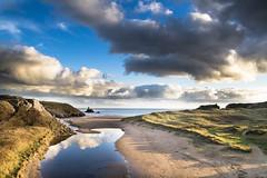 Broadhaven pond (brianmiller006) Tags: beach wales coast sand pembrokeshire broadhaven churchrock