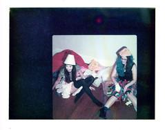 Janelle and Kirstie - BTS (mattbellphoto) Tags: polaroid hasselblad kirstie expiredfilm 669 500cm packfilm instantfilm 80mmf28 janellestarrett