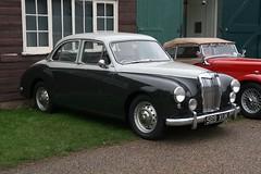 1958 MG Magnette (davocano) Tags: brooklands brooklandsnewyearsdaygathering newyearsdaygathering2015 589xuk