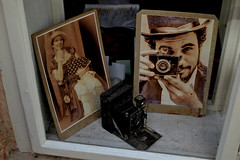 . (FOTO.Michaela) Tags: old summer streets window shop photography nikon republic czech prague photos walk retro 2014 d3100 photoaparate