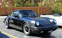 Porsche 911 Carrera (3.2) (RudeDude2140a) Tags: black classic sports car 911 porsche 32 coupe carrera