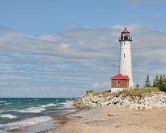 UP Michigan 2132 (John Rothwell) Tags: camping summer lighthouse lake point michigan superior upper crisp peninsula crisppoint