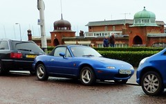 Mazda Roadster (grassrootsgroundswell) Tags: classiccar mazda classiccars mazdaroadster classicjapanesecar mazdaeunosroadster