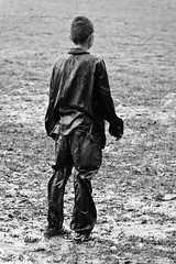 A Goalkeeper in Mud