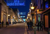 It's Bold St (Capt'n Red Beard) Tags: road christmas street decorations night liverpool lights neon nightscape candid sony pedestrians