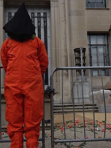washingtondc peace whitehouse protest antiwar torture guantanamo worldcantwait antitorture orangejumpsuits witnessagainsttorture