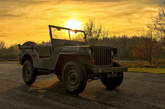 Willy's Jeep (WvB Photography - The Sky Is The Limit) Tags: ford netherlands flying force jeep pentax vlucht air flight royal historical dag partner stichting willys k5 koninklijke luchtmacht gilzerijen historische skhv ehgr da1855wr pentaxk5 weslyvb weslyvanbatenburg