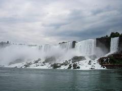 American Falls (left) and Bridal Veil Falls (right) (Kaustubh.Sheth) Tags: waterfalls cascades bridalveilfalls americanfalls naigarafalls aerialshots