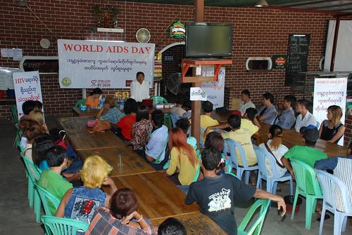 World AIDS Day 2014: Myanmar