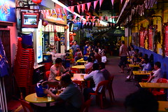 A new Drinking hole discovered (pranav_seth) Tags: street people real singapore nightshot streetphotography littleindia drinkinghole theotherside