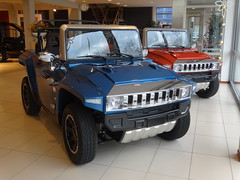 Hummer HX Electric Cars (harry_nl) Tags: netherlands amsterdam nederland hummer hx electriccar 2014