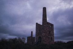 Wheal Peevor (The Original Happy Snapper) Tags: uk blue red cloud sexy green industry sex naked tin mine cornwall erotic body heather stormy cornish ruines gorse