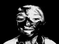 DSCN1840nn (philip.lea1994) Tags: family white black art college portraits project paint camouflage backround