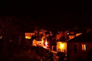 Paysage nocturne, Saint-Guilhem-le-Désert