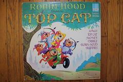 Top Cat Robin Hood (HBR 1965) (Donald Deveau) Tags: cartoon lp record tvshow robinhood hannabarbera topcat 1960stv