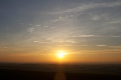 Sunset 29th December 2014 (mark_fr) Tags: york sunset sky sun set sunrise volcano view market yorkshire hill estuary vale east dust rise volcanic mere beverley humber hornsea weighton molescroft