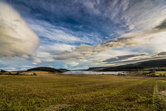 Munlochy Bay (bradders29) Tags: weather clouds scotland harvest highland fields invernessshire munlochybay