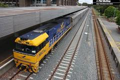 22 November 2014 NR27 Indian Pacific   Perth Terminal (RailWA) Tags: pacific indian terminal perth railwa nr27 philmelling