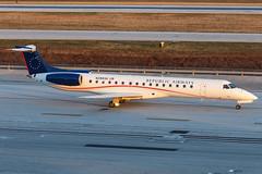 Shuttle America // Embraer ERJ-145LR // N288SK (cn 145461) // KCMH 1/5/15 (Micheal Wass) Tags: embraer s5 cmh erj tcf erj145 portcolumbus portcolumbusinternationalairport embraererj145 shuttleamerica e145 kcmh n288sk