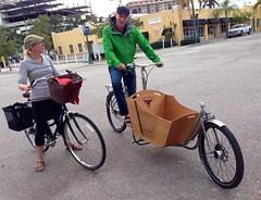 Out and about (METROFIETS) Tags: beach bike bicycle florida bikes sarasota beachbike cargobike beachcruiser enjoytheride bikelife metrofiets keepriding bikesrq palmtreesandbikes