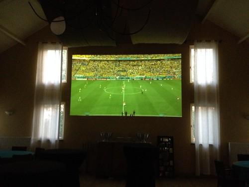 groot scherm WK