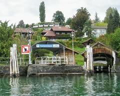 Kastanienbaum Boat Station on Lake Lucerne, Central Switzerland (jag9889) Tags: lake station schweiz switzerland europe suisse suiza luzern 2006 terminal alpine kayaking boathouse svizzera paddling lucerne ch vierwaldstttersee kayaker lakelucerne innerschweiz kastanienbaum zentralschweiz centralswitzerland y2006 kantonluzern cantonlucerne 20061006 jag9889