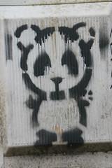 Lyon street art (www.JnyAroundTheWorld.com - Pictures & Travels) Tags: stencil panda street streetart artderue photographiederue lyon france city photography canon jnyaroundtheworld jenniferlavoura stencils pochoir pochoirs