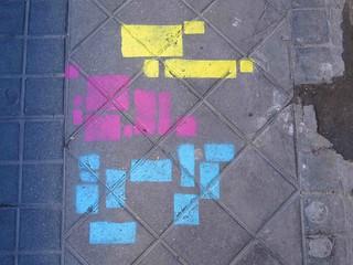 Madrid es amarillo, magenta y cian