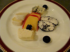 Cheese Plate (knightbefore_99) Tags: food west art mexico coast pacific plate sunny playa mexican queso oaxaca tropical secrets fromage huatulco