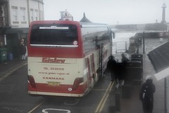 Return of the Vikings (innpictime ζ♠♠ρﭐḉ†ﭐᶬ₹ Ȝ͏۞°ʖ) Tags: bus wet denmark coach tourists whitby visitors vikings danmark danes northyorks pierroad ubba rainybritain ingwar gislev 5449007061454 wwwgislevrejserdk
