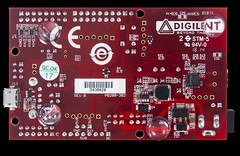 chipKIT Wi-FIRE: WiFi Enabled PIC32MZ Microcontroller Board (Digilent, Inc.) Tags: analog power buttons board flash pins io signals wifi usb leds wireless ram input highspeed microcontroller voltage potentiometer programmer spi microsd debugger digilent mplab wifire chipkit mpide