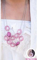 Glimpse of Malibu Purple Necklace K2 P2420-4