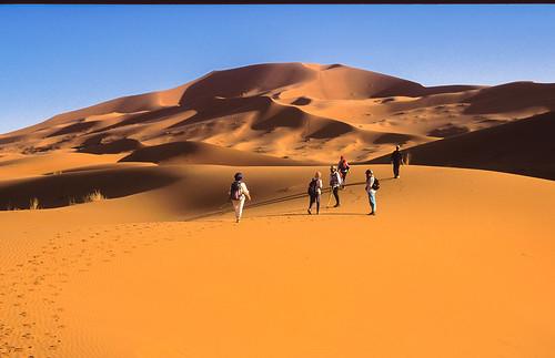 Lichtspiele in der Wüste