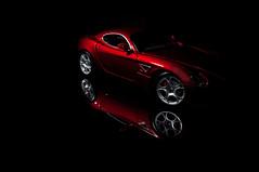 Alfa  Romeo Competizione (JamesGreig123) Tags: life light red portrait reflection art car sport night painting studio photography still model long exposure artist with flash alfa romeo competizione