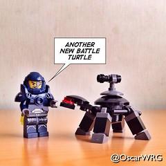 #LEGO_Galaxy_Patrol #LEGO #BattleTurtle #Mech #Battle #Turtle #Black and #DarkStoneGray @lego_group @lego (@OscarWRG) Tags: square turtle squareformat mech iphoneography instagramapp uploaded:by=instagram foursquare:venue=4fa490cbe4b0b487cd687c02