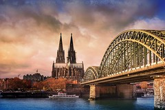 Cologne, Germany / 2015 (onuruye) Tags: world life street city travel bridge sunset sky urban holiday art love colors clouds rural canon turkey river germany photography evening photo amazing europe flickr european foto fotograf view photoshoot time dom turkiye streetphotography cityscapes like photographers cologne lifestyle pic kln blogger best follow special photograph memory moment popular hdr edit photogram followers photooftheday canonphotography hdrphotography popularphotos specialphotos instagram gununfotografi gununkaresi gununfotosu