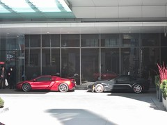 fast company (roaddragon305) Tags: toronto stingray chevy corvette shangrilahotel mclarean roadspots