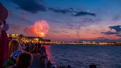 Victory Day (pilot3ddd) Tags: twilight fireworks saintpetersburg victoryday nevariver panasoniclumixg20mmf17 olympuspenepl7