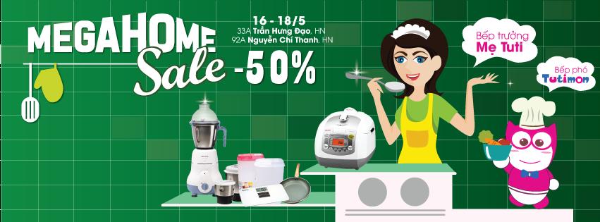 [Hà Nội, Đà Nẵng, Hải Phòng] Mega Summer Sale - Bão Giá Cấp 50%